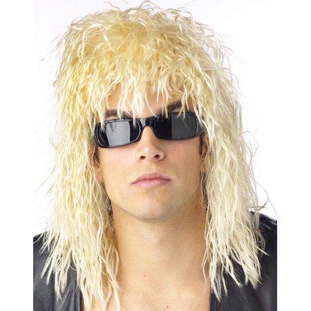 Rockin' Dude Blonde Costume Wig - image 1 de 1