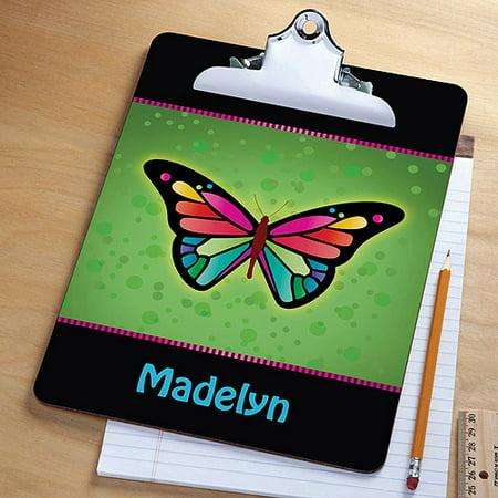 Personalized Pretty Butterfly Clipboard