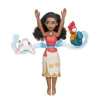 disney moana spin & swim, doll & friends water play