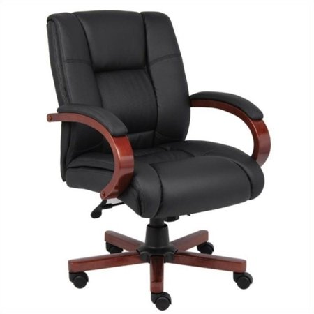 Scranton & Co Mid Back Executive Office Chair in