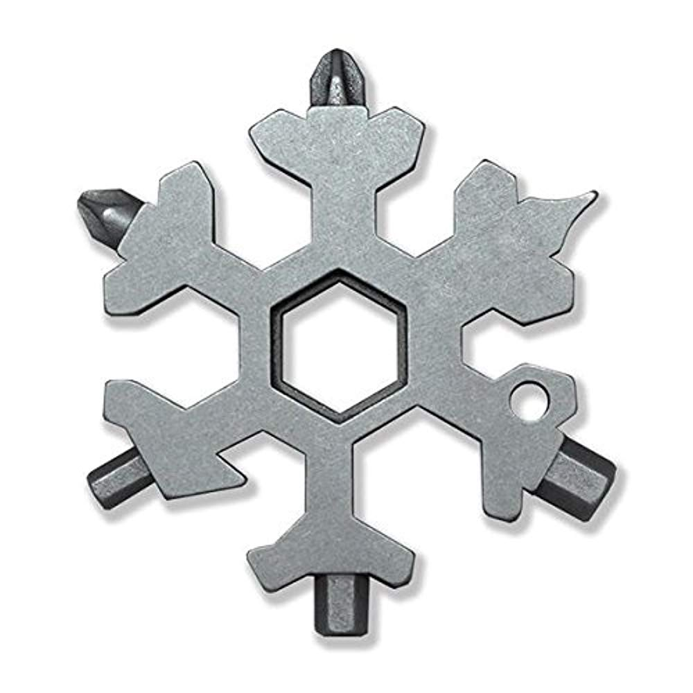 Squad Marketing 15-in-1 Stainless Multi-tool New Snowboarding Multi-tool- Standard, Stainless Steel by