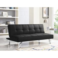 Serta Corey Convertible Futon Sofa Bed (Black) + $20 Kohls Cash