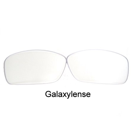 Galaxy Replacement Lenses For Oakley Hijinx Sunglasses Crystal Clear Color 100% (Hijinx Sunglasses)