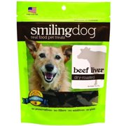 Herbsmith Smiling Dog Dry-Roasted Treats, Beef Liver