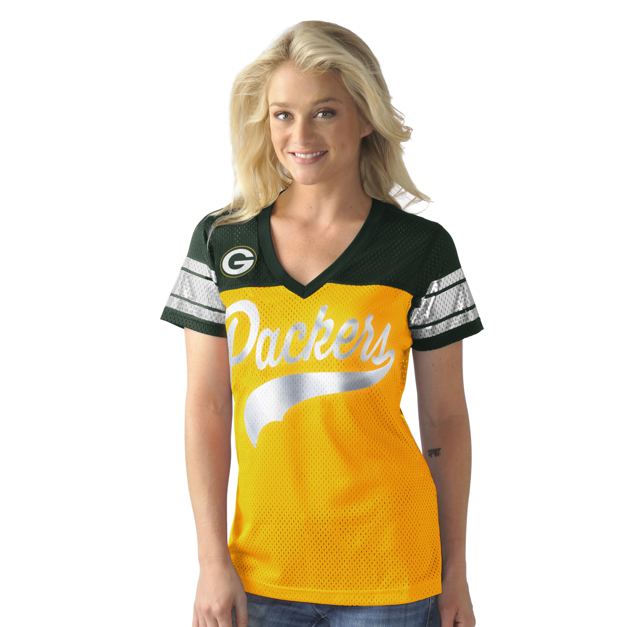 Green Bay Packers Pass Rush Women's Top