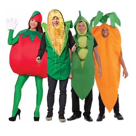 Adult Vegetable Group Costume Set