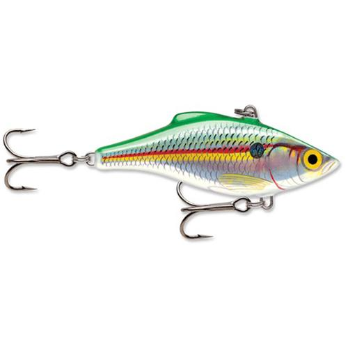 Rapala Rattlin' Rapala 04 Fishing Lure Holographic Emerald Shad by Rapala
