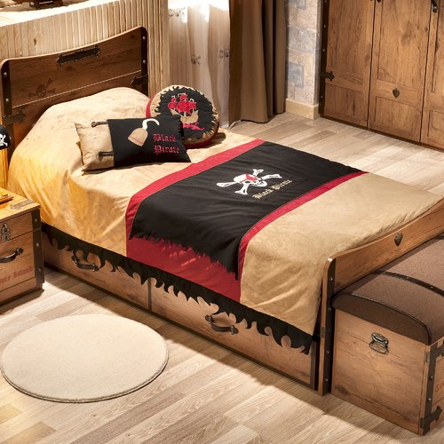 Cilek Pirate 3 Piece Toddler Bedding Set