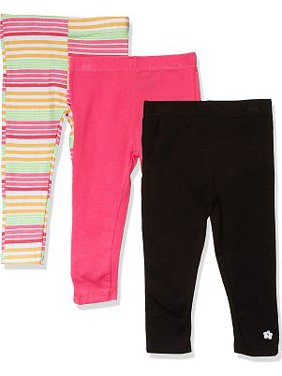 Limited Too Girls 4-16 Printed and Solid Leggings, 3-Pack
