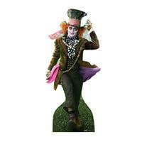 Mad Hatter - Disney's Alice in Wonderland (2010) - Advanced Graphics Life Size Cardboard Standup