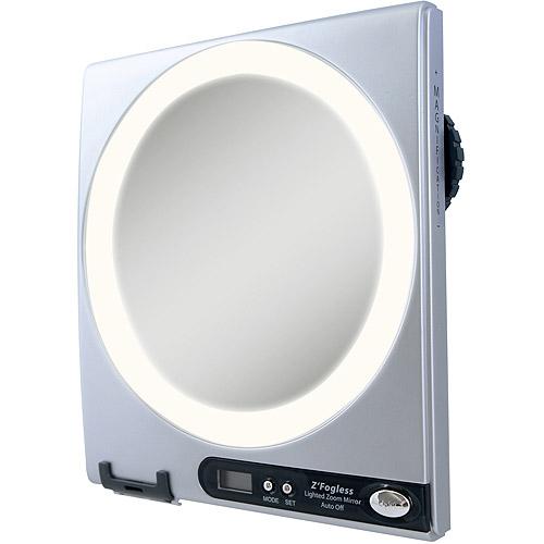 Zadro Z Fogless Surround Light Shaving Mirror Walmart Com
