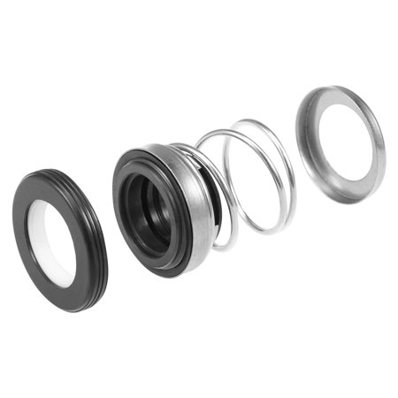 Mechanical Shaft Seal Replacement for Pool Spa Pump 2pcs 108-18 - image 3 de 4