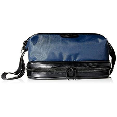Dopp Men's Zip-Bottom Travel Kit, Navy