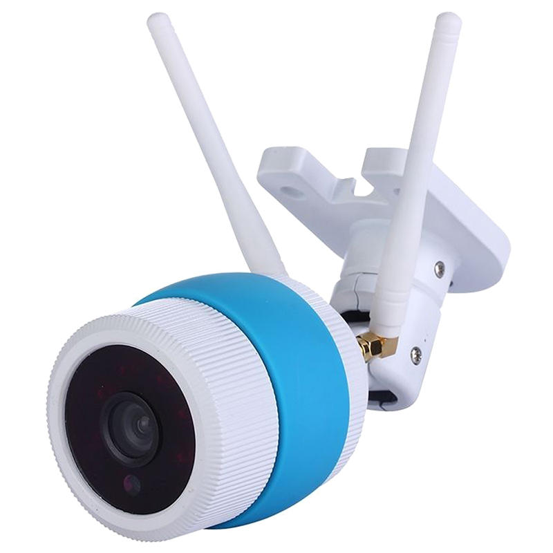 THZY 960P HD Outdoor Wireless Network Security WiFi IR Night vision CCTV IP Camera, Blue