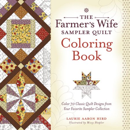 The Farmer's Wife Sampler Quilt Coloring