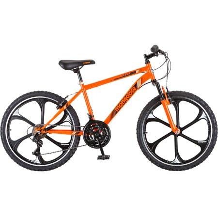 24 Boys Mongoose Alert Mag Wheel Bike Orange