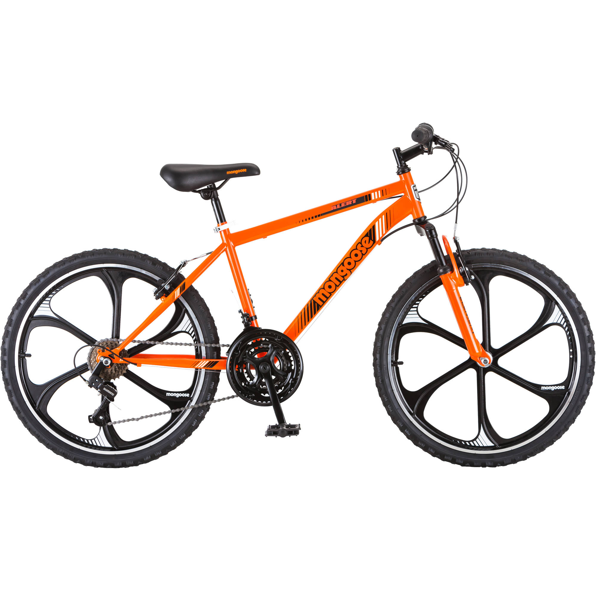 "Mongoose 24"" Boy's Alert Mag Wheel Bike"