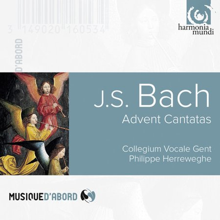 Bach   Herreweghe   Collegium Vocale Gent   Advent Cantatas  Cd