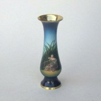 India Overseas Trading BR21026X - Brass Picture Vase