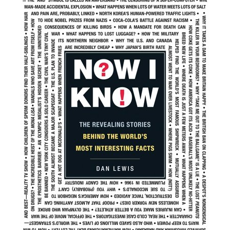 Now I Know : The Revealing Stories Behind the World's Most Interesting Facts