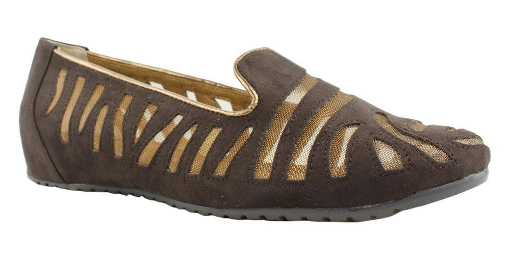 J. Renee Womens Brown Slipper Shoes Slippers Size 8 New by J. Renee