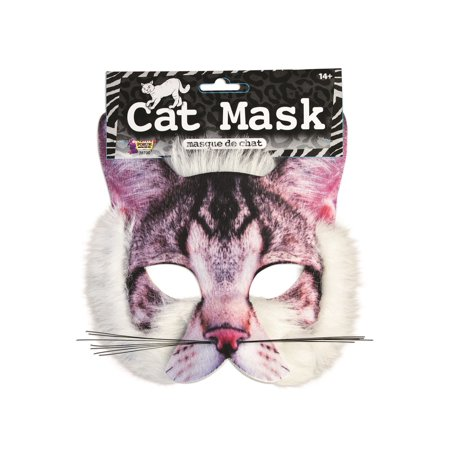 Cat Mask For Halloween (Adult Cat Mask)