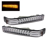 Xtune Chevy S10 / Blazer 98-03 LED Amber Bumper Lights Chrome CBL-CS1098-LED-E