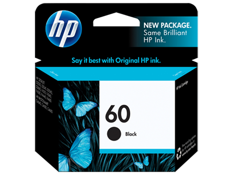 HP 60 CC640WN Black Original Ink Cartridge Walmartcom