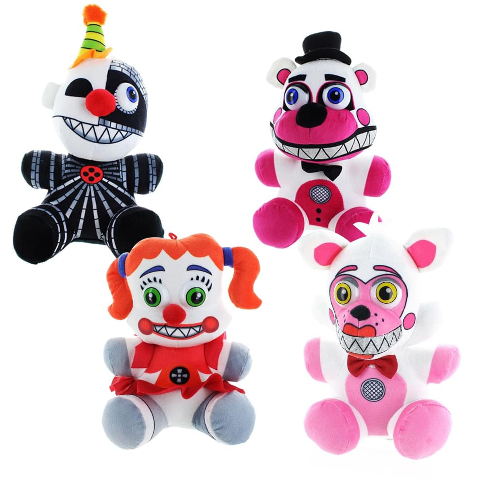 Koala Stuffed Animals Mini, Five Nights At Freddy S Sister Location 10 Plush Set Of 4 Walmart Com Walmart Com
