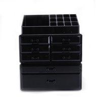 UBesGoo Makeup Organizer Acrylic Cosmetic Storage Drawers and Jewelry Display Box
