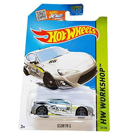 Hot Wheels - HW Workshop 237/250 - Scion FR-S 1:64 Scale Collectible Die Cast Metal Toy Car Model (Die Cast Scion)