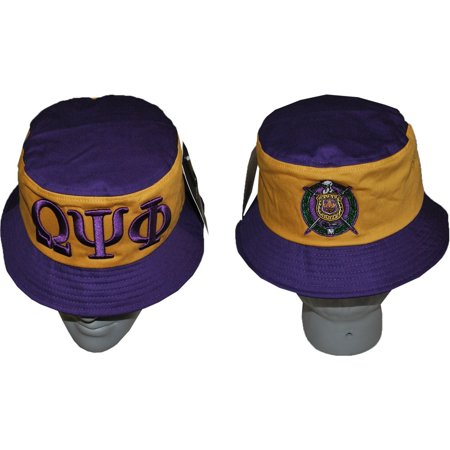 Cultural Exchange - Omega Psi Phi Divine 9 S2 Mens Bucket Hat  Purple - 59  cm  - Walmart.com 3afdc100392
