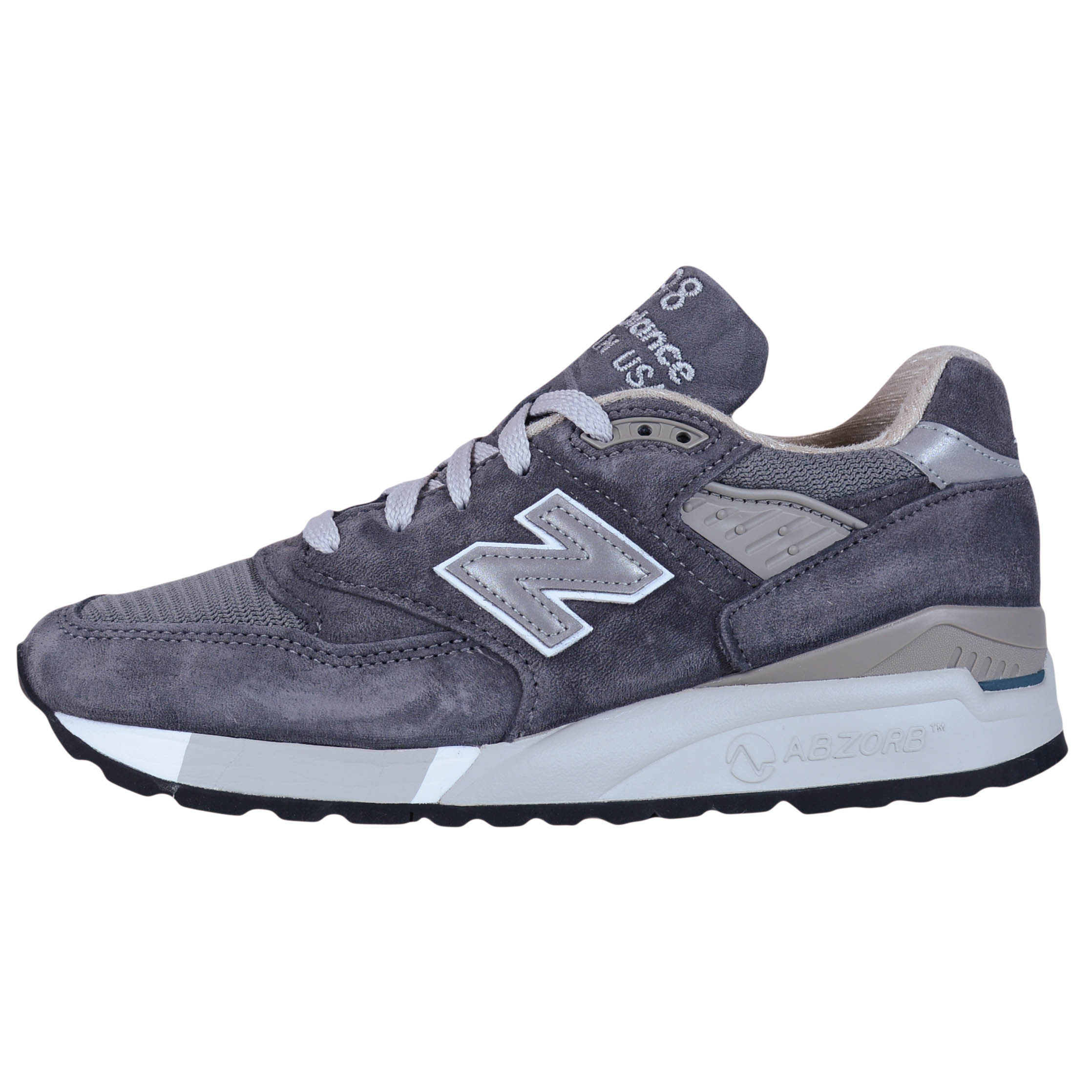 huge selection of b3848 d1602 New Balance - NEW BALANCE WOMEN S 998 RETRO RUNNING SHOES CHARCOAL GREY  W998CH MADE IN USA - Walmart.com