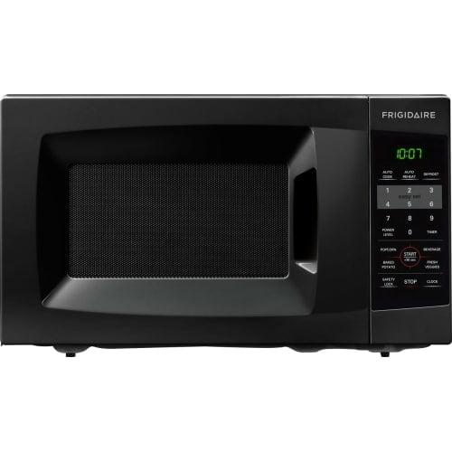 Frigidaire 0.7 Cu Ft 700W Countertop Microwave Oven, Black