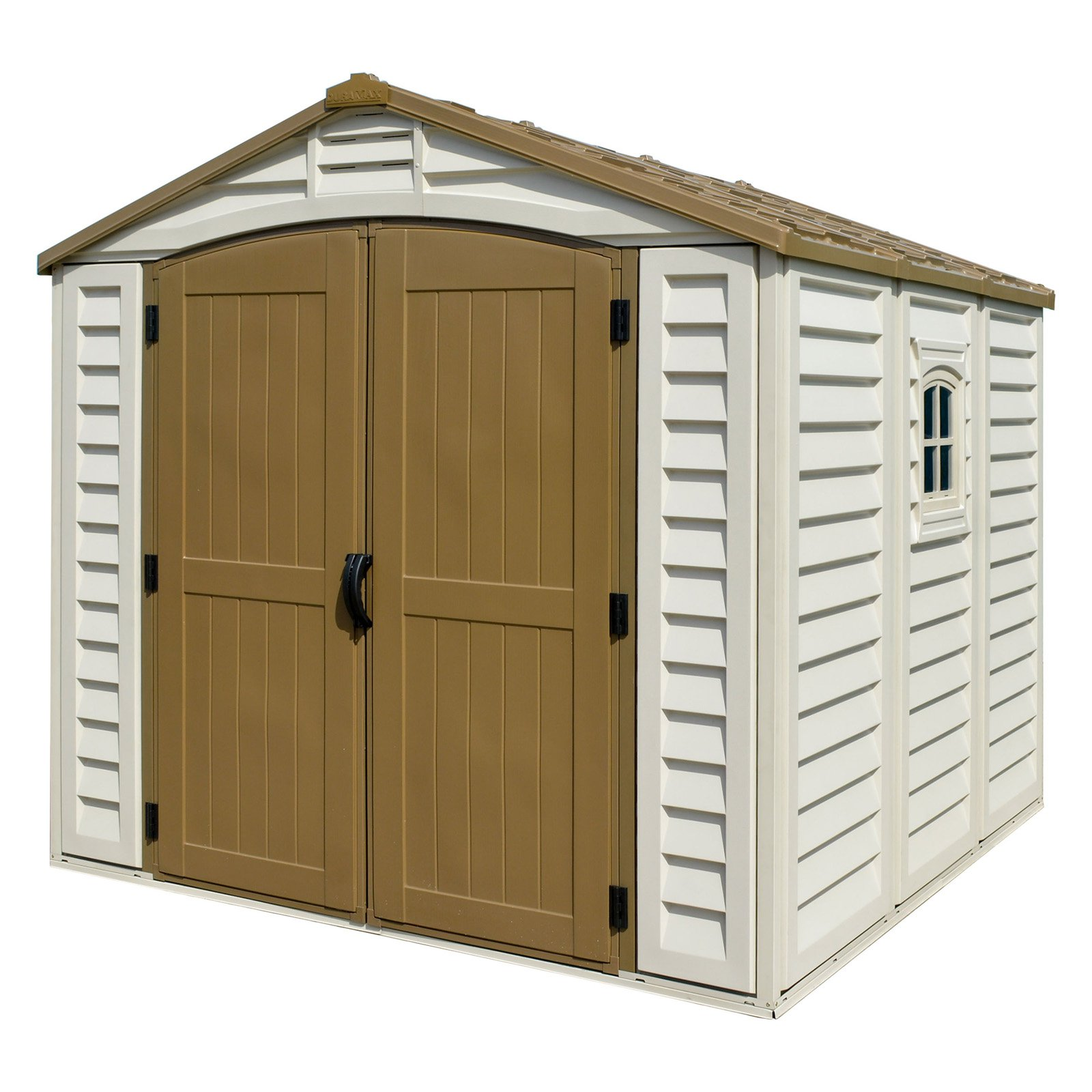Duramax Building Products DuraPlus Vinyl Shed with Foundation
