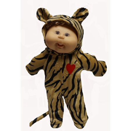 Tiger Halloween Costume Fits Cabbage Patch Kid Dolls