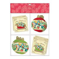 Island Heritage Sleigh of Aloha 12 Pack Holiday Gift Tags