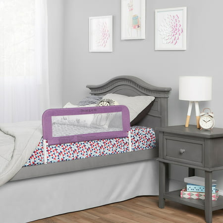 Dream On Me Security Rail For Twin Size Bed in Purple Bumper Bed Beds
