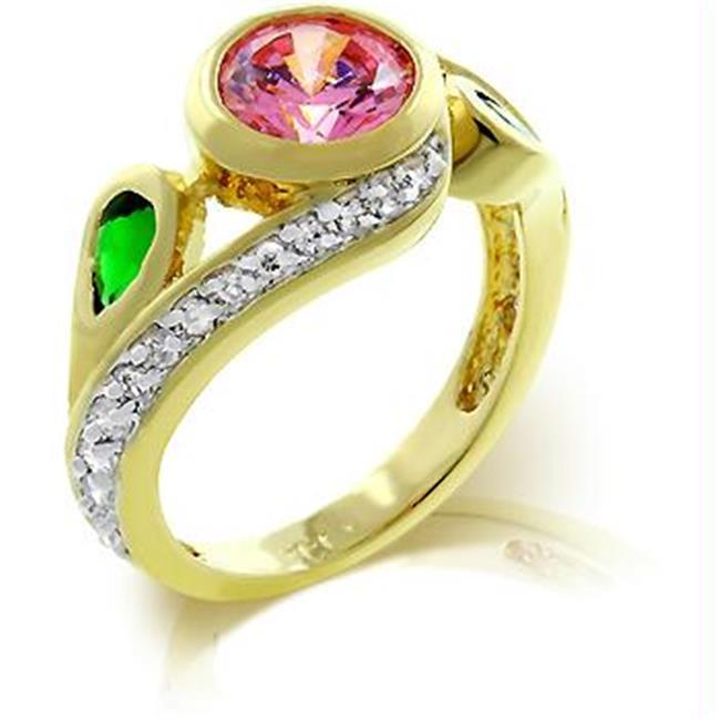 Twisting Blossom Ring, <b>Size :</b> 09