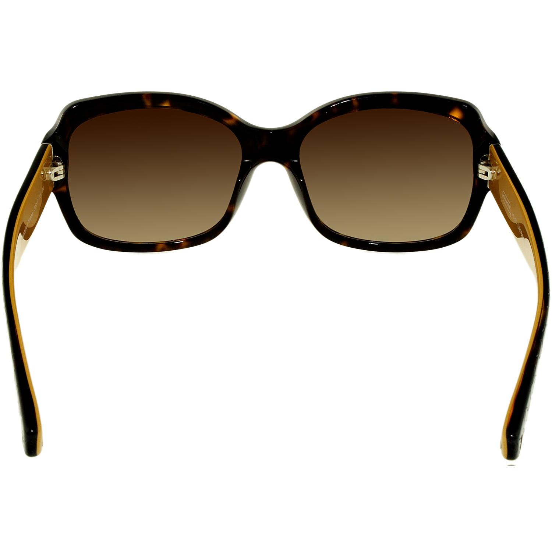 632106c2f71 Coach - Women s Gradient Emma HC8001-505513-57 Tortoiseshell Butterfly  Sunglasses - Walmart.com