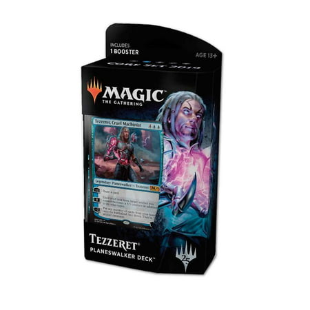 Magic 2019 Core Set Planeswalker Tezzeret Deck Trading Cards