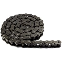 Jeremywell 100 Roller Chain 10 Feet with 1 Connecting Link
