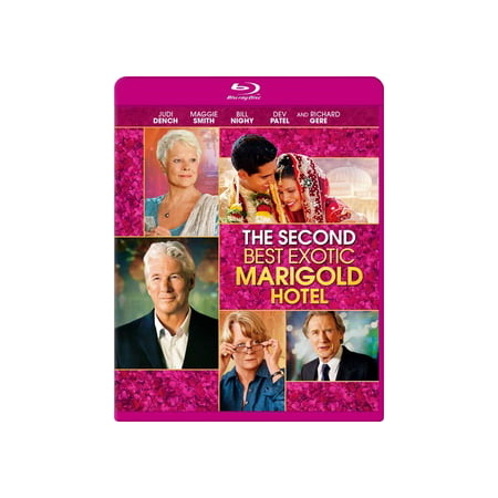 The Second Best Exotic Marigold Hotel (Blu-ray) (Best Of Foghorn Leghorn)