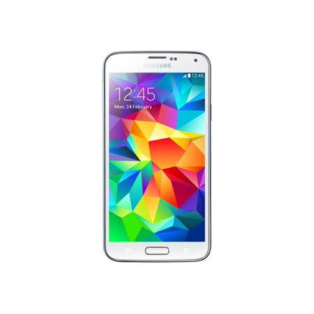 Samsung Galaxy S5 G900A 16GB Unlocked GSM Phone w/ 16MP Camera - White (Certified Refurbished) (Samsung S5 Amplifier)