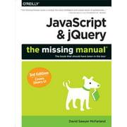 JavaScript & jQuery: The Missing Manual - eBook