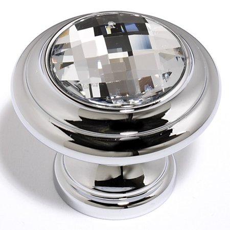 Alno Inc Swarovski Crystal Mushroom Knob ()