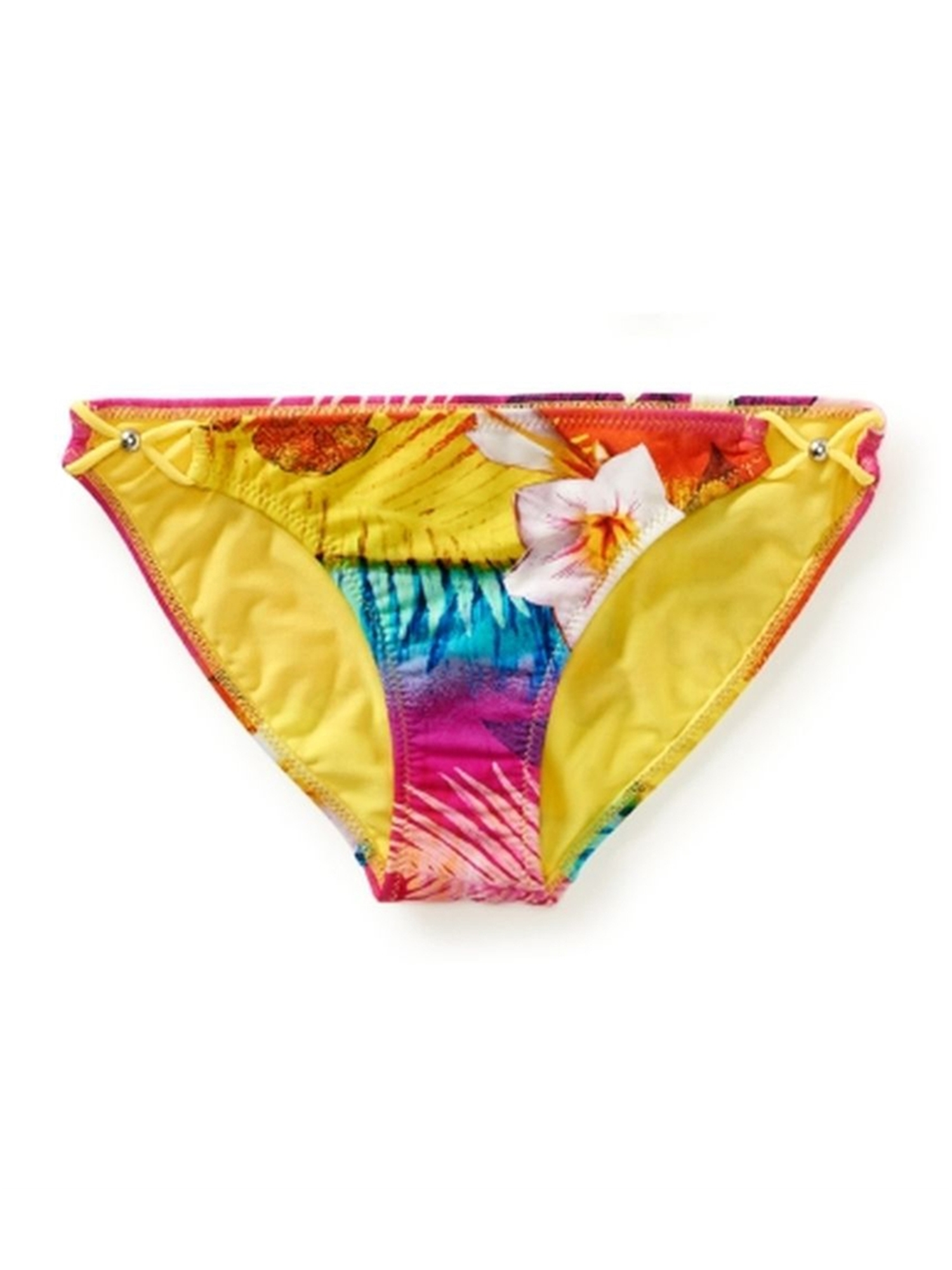 Aeropostale Juniors Tropical Bikini Swim Bottom