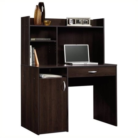 Pemberly Row Desk with Hutch in Cinnamon Cherry ()
