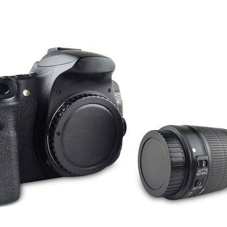 - TSV Rear Lens Cover + Camera Body Cap EOS / EF / EF-S Fit For Canon DSLR SLR Lens