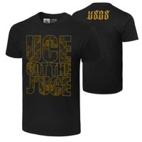 """Official WWE Authentic The Usos """"Uce Got The J'Uce""""  T-Shirt Black Small"""